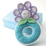 Daisy Ring Rattle Toy