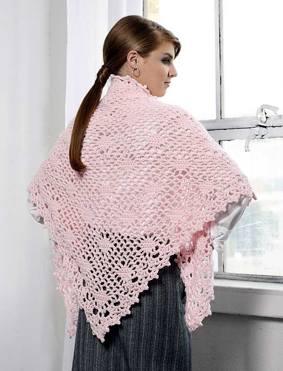 Best Friend Shawl to crochet back