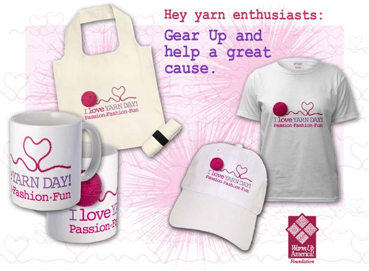 Hey yarn enthusiasts: Gear Up and help a great cause.
