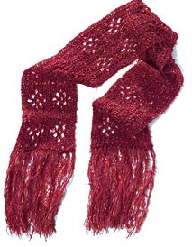 Crochet Galore: Diamond Duo Scarf