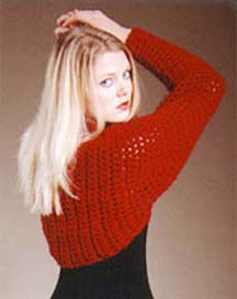 Free Crochet Pattern: Simple Sassy Shrug