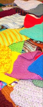 Warm Up America afghan squares