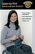 cover of Learn-to-Knit by Lion Brand