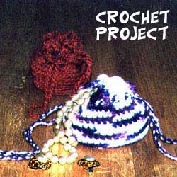 photo of Crocheted jewelry bags