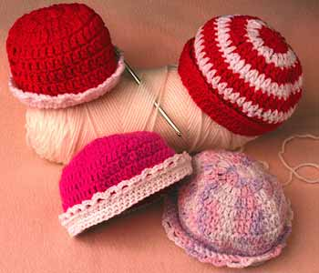 crochet hats, free crochet patterns