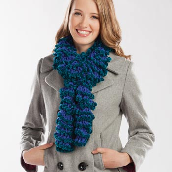 Radiant Ruffled Scarf