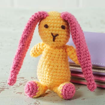 Crochet Spring Bunny photo