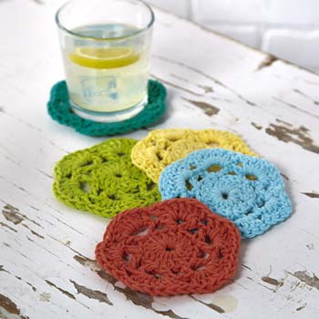 Crochet Coasters photo