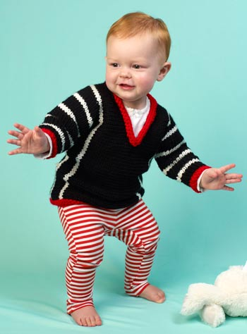 Lorna Miser Baby Sweater
