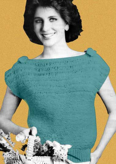 Quick Easy Garter Stitch Top Welcome To The Craft Yarn Council