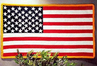 american flag crochet