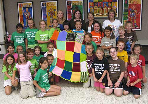 3rd grade blanket group