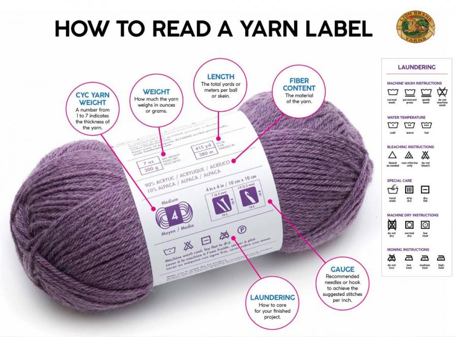 c730373ce70e The first is the yarn weight or thickness of the yarn  certain projects  require certain weights of yarn